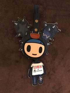 Edwin x Tokidoki 鎖匙扣