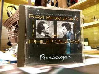 Ravi Shankar Philip Glass Passages CD RARE CHEAP!