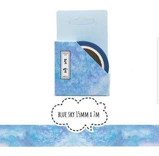 [T]Blue sky washi tape