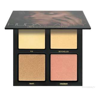 Huds beauty 3D highlight palette - the golden sands (RAMADHAN SALE)