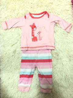Mothercare Baby Girl Pyjamas