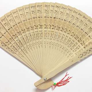 [NEW] Chinese Wooden Foldable Fan