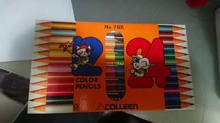 $30 for 2 Colleen 24 color pencils 木顏色 no.785