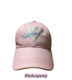 Seventeen Pink Baseball Cap
