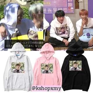 BTS Jungkook Face Duplicate Hoodie