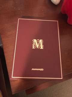 Mamamoo Memory Album ( PRICE RUDUCED )