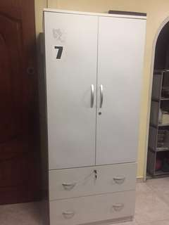 White Wardrobe moving out sale