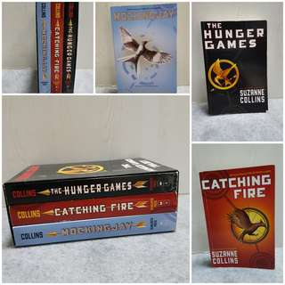 Preloved The Hunger Games Trilogy