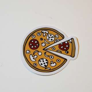 Pizza Laptop Sticker 電腦貼紙