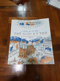 Travel Colouring book