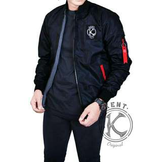 Kent jaket bomber 2in1 black