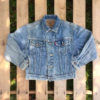 Kids Denim Jacket (BIG JOHN)