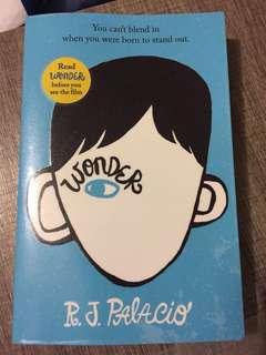 Wonder 奇蹟男孩 english fiction 英文小說