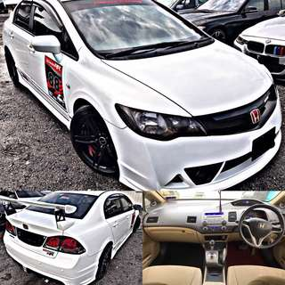 SAMBUNG BAYAR / CONTINUE LOAN  HONDA CIVIC FD 1.8 AUTO FULL SPEC