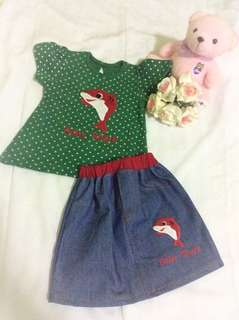 #baby shirt and skrit#baby clothes