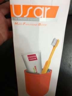 USAR胶囊旅行洗漱刷牙杯