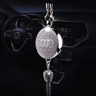 Original CAR diamond logo Perfume Air Freshener Perfume Pendant for Audi