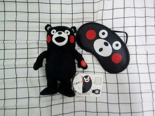Kumamon Doll & Blindfold