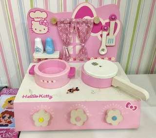 Hello Kitty Table Top Kitchen