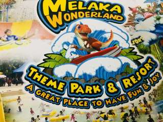 Melaka wonderland theme park & resort ticket