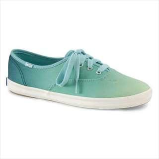 🚚 Keds 漸層個性休閒鞋-湖水綠