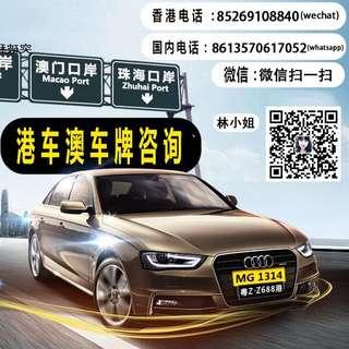 香港居民如何辦理港珠澳车牌