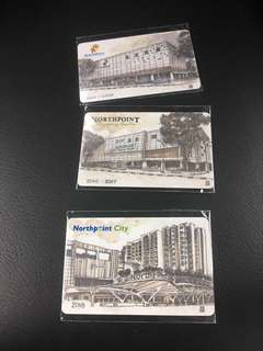 NorthPoint ezlink/Ez-Link/Cashcard Collectibles