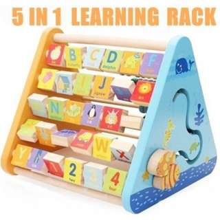 5 in 1 learning rack