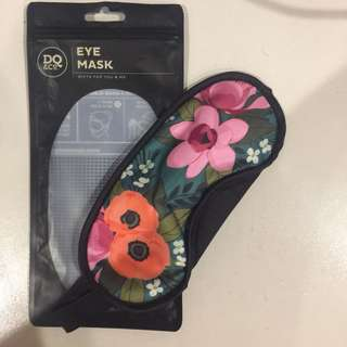 DQ&CO floral travel eye shades / mask