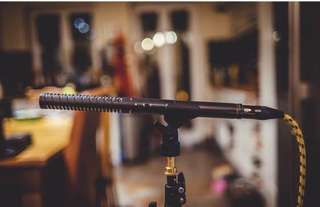 Rode NTG4 microphone
