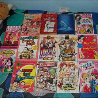 CHEAP COMIC AND BOOKS