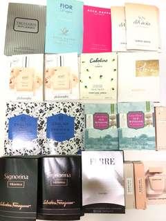 [試用裝] philosophy / Crabtree / Salvatore ferragamo / Acca / Armani / Sisley / perfume 香水 sample