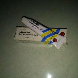 Vitacid 0,025 retinoic acid