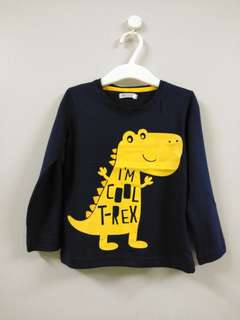 🆕 dino tshirt (dark blue)