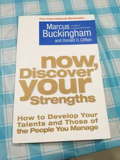 Now, discover your strength book
