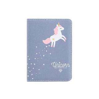 Unicorn Canvas Texture Notebooks