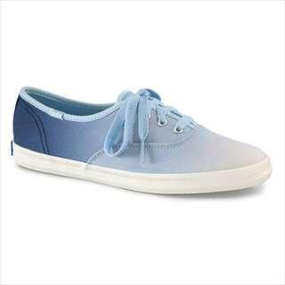 🚚 Keds 漸層個性休閒鞋-天空藍