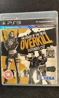 PS3 The House Of The Dead Overkill (Move Edition)