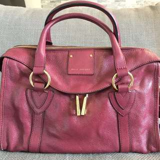 Marc Jacobs | Small Fulton Leather Satchel | Chianti