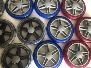 ( In Stock) Replacement Wheel for Marketing Trolley