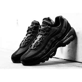 Brand new Nike Airmax 95 Triple Black