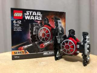 LEGO Star Wars microfighters Tie fighter first order