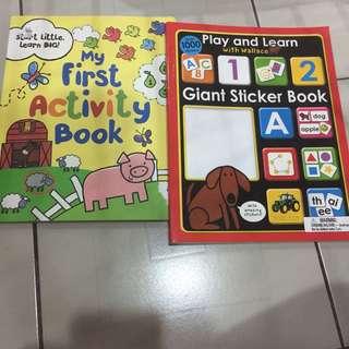 activity books bundle