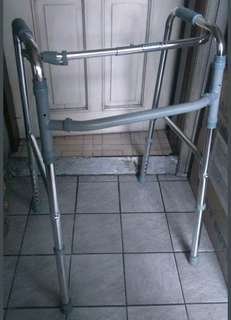 MEDICAL GRADE STABILIZED FOLDABLE WALKER, STAINLESS STEEL