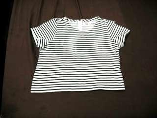Stripes crop top