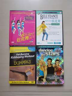 Belly Dance/ Cardio Dance & Kickboxing Workout DVD