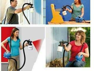 Paint zoom sprayer pro spray guns with 3 ways