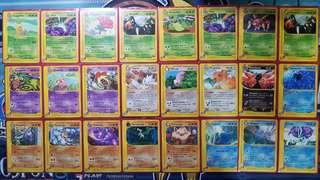 Bulk Pokemon Card lot from Aquapolis Skyridge Expedition Eseries