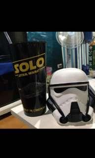 Star war Han Solo 汽水杯