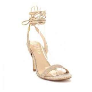 Betts Billie 2 gold lace up heels